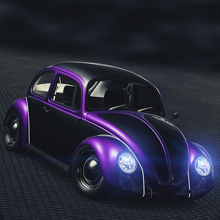 VW Beetle Käfer Coccinelle