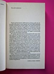 Soglie, di Gérard Genette. Einaudi 1989. Responsabilità grafica non indicata [Munari]. Nota del traduttore, indicazione della responsabilità: pag. IX (part.), 1