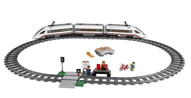 LEGO City 60051 - High-Speed Passenger Train