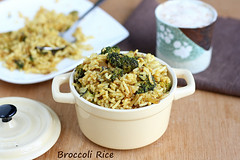 broccoli -rice