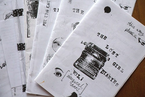 Lost Girl Diaries zine