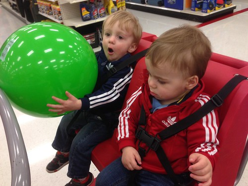 Big Green Ball at Target