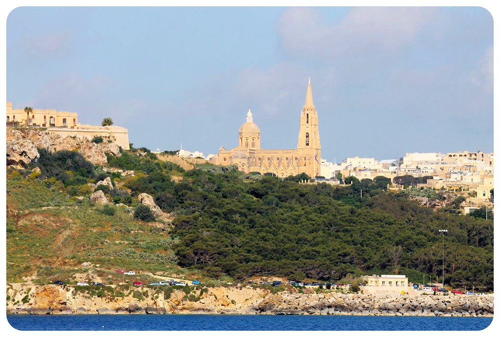 gozo malta from the sea
