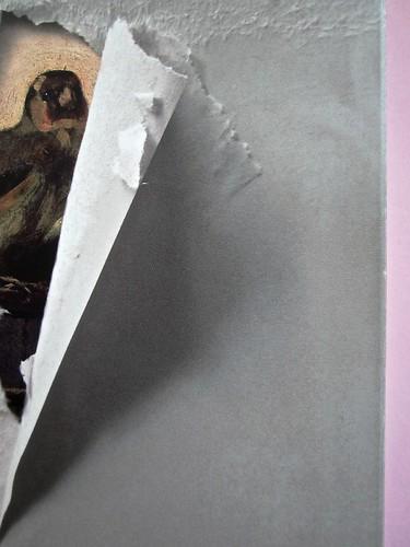 Il cardellino, di Donna Tartt. Rizzoli 2014. Art director: Francesca Leoneschi / theWordofDOT; graphic designer: @Keith Hayes; ritr. fotog. col. dell'autrice: ©Beowulf Sheehan. Prima di sovracoperta (part.), 3