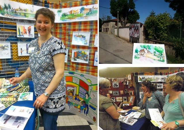 Week-end du carnet de voyage - Beaurepaire (Isère)