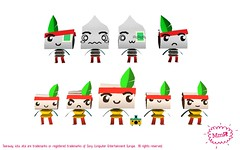 Tearaway: Character Concepts