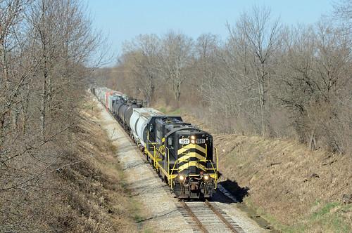 Indiana Northeastern eastbound - Hamilton, Indiana