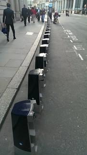 Sign of a tube strike