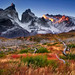 Horns of Cuernos del Paine by Ania Tuzel Photography