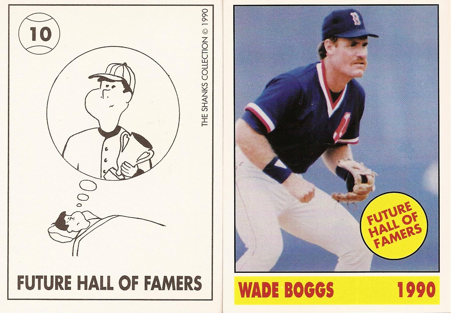 1990 Shanks Collection Future Hall of Famers