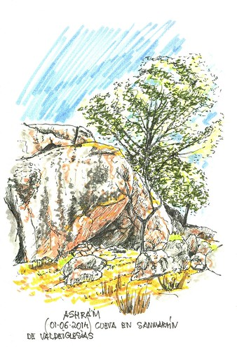 Cueva en el Ashram de San Martín de Valdeiglesias (Madrid)