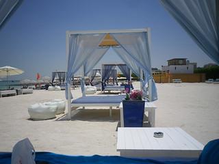 Image of Yas Public Beach. abudhabi unitedarabemirates