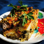Thumbnail image for Kale & Leek Bread Pudding