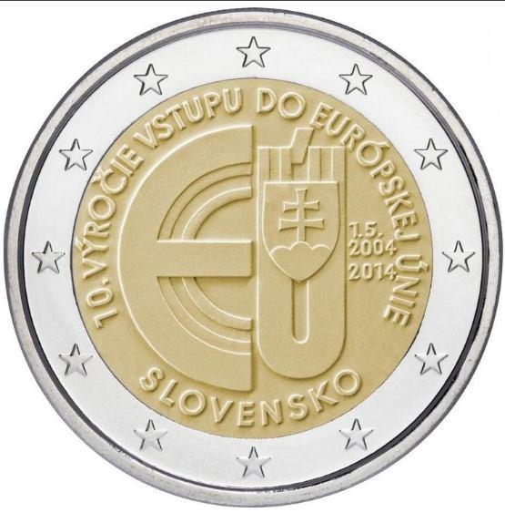 *2 Euro Slovensko 2014, 10. výročie vstupu do EÚ