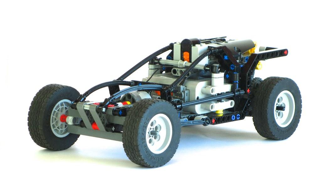 how to build a lego technic car