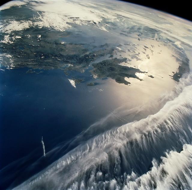 Greece - Griechenland aus dem Weltall - Nasa Goddard