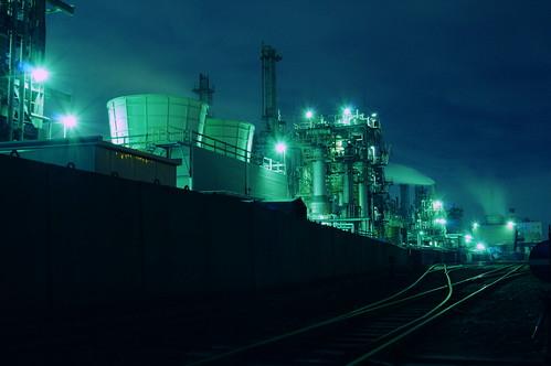 Nightscape at Kawasaki Industrial Zone 20