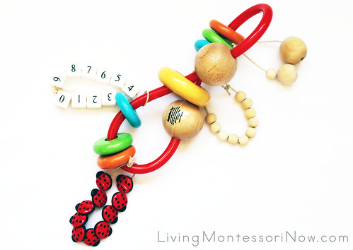 Manhattan Toy Skwinkle Teether with DIY Add-ons