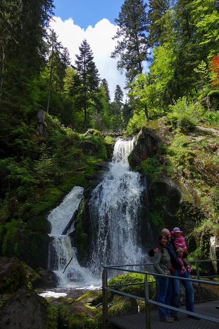 Waterfalls in Triberg