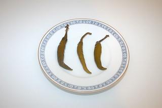 15 - Zutat eingelegte Peperoni / Ingredient soused peperoni