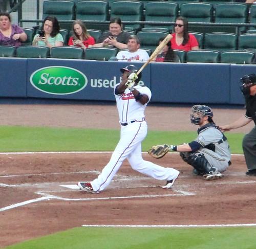 Justin Upton swing