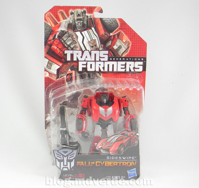 Transformers Sideswipe Deluxe - Generations Fall of Cybertron Edition - caja