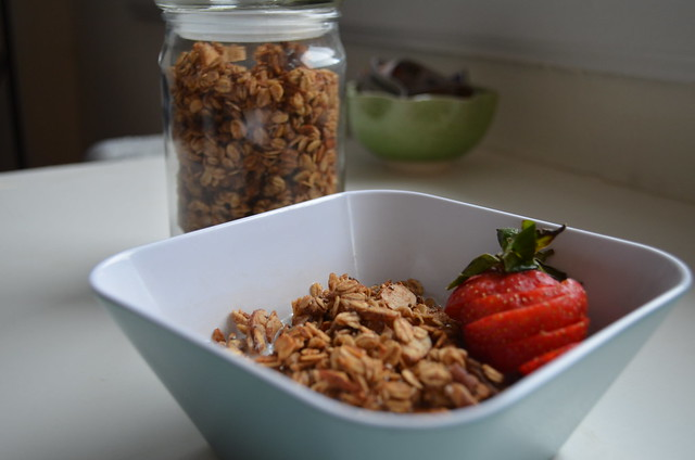 granola, ready to eat