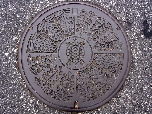 Koura Shiga, manhole cover (滋賀県甲良町のマンホール)