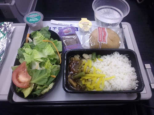 Chicken with Rice in United Economy