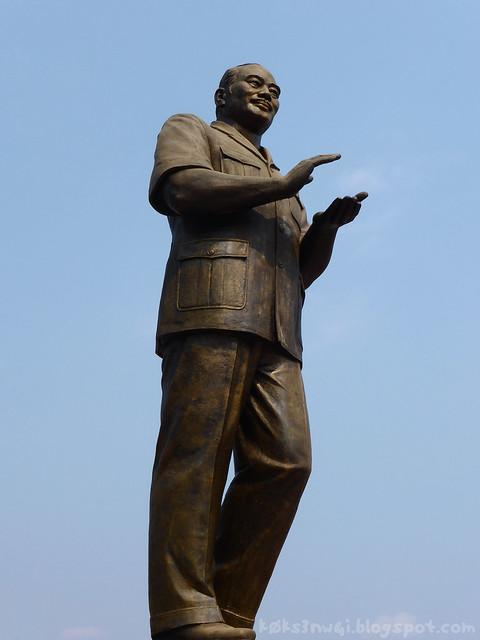 Luang Prabang Monument du President Souphanouvong