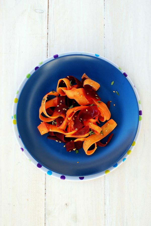 ensalada de zanahorias encurtidas