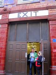 Surrey St exit