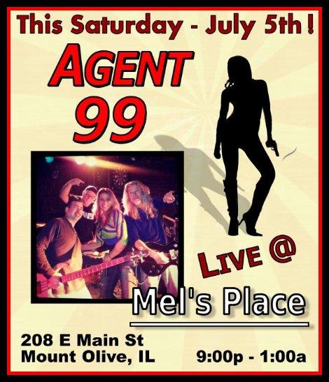 Agent 99 7-5-14