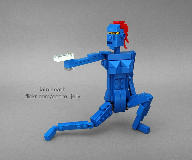 "LEGO Mystique: ""Mutant and proud!"""