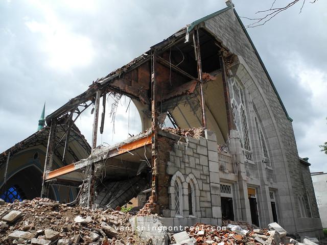 Eglise Notre-Dame-de-la-Paix demolition 6/06/14 04
