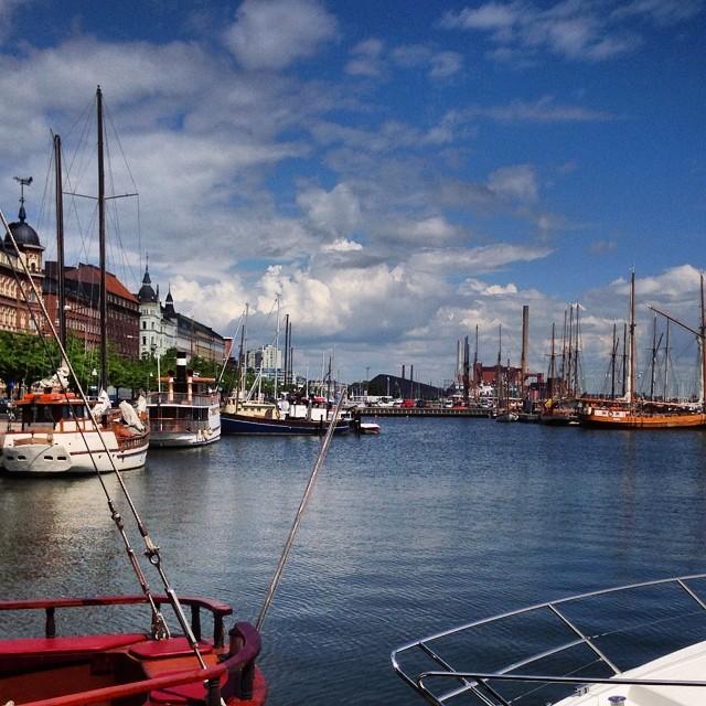 So far I really enjoy Helsinki! #helsinki #happy #marine #sea