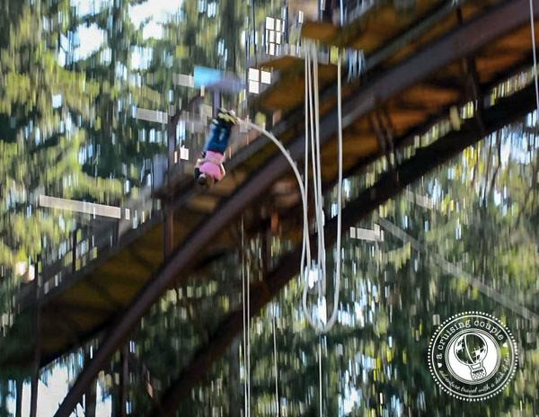 A Cruising Couple Bungee Jump