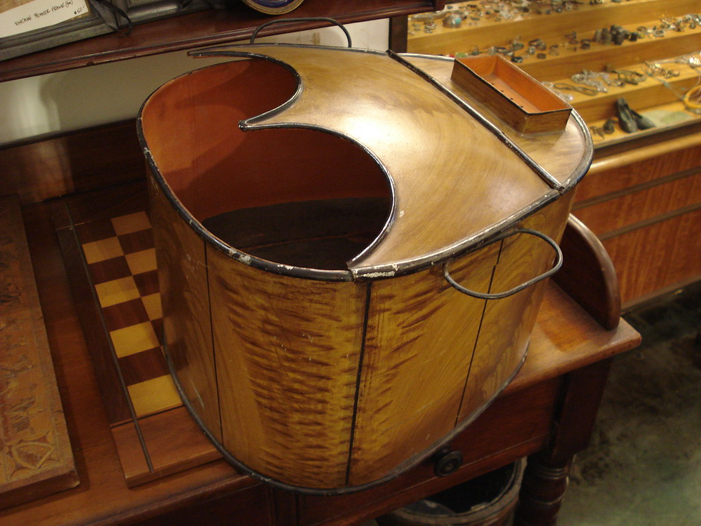 Old Fashioned Victorian Foot Bath Composition - Bathtubs For Small ...