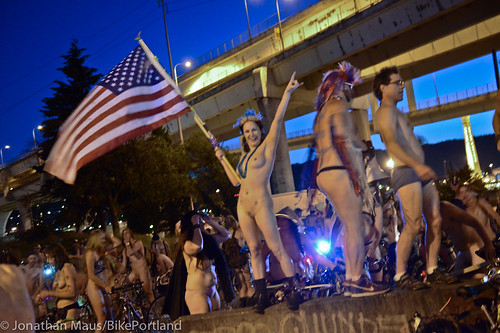 2014 World Naked Bike Ride -84