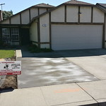 New Concrete Driveway Extension In Vacaville