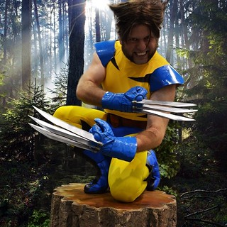 Wild Thing. Photo by J.R. Blackwell #wolverine #xmen #cosplay #animeexpo #ax2013