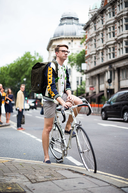 Street Style - Seb Law, London Collections: Men