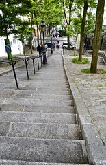Montmartre Hills staircase