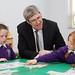 Visit to Gaelscoil Neachtain Irish-medium primary school, Dungiven, 18 June 2014