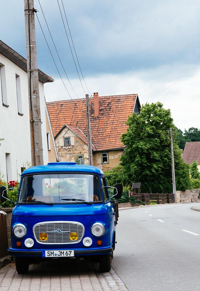 Der blaue Laster