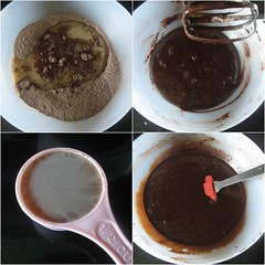 chocolate truffle(0.0), chocolate cake(0.0), chocolate brownie(0.0), pudding(0.0), ganache(1.0), chocolate pudding(1.0), food(1.0), dish(1.0), chocolate(1.0), cuisine(1.0),