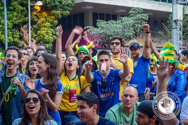 Cheering for Brazil World Cup 2014