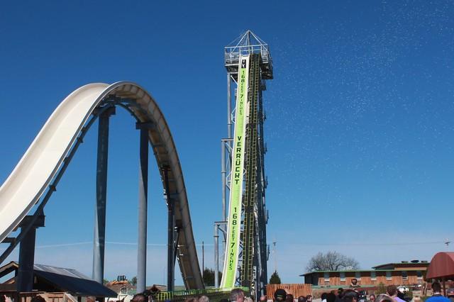 Schlitterbahn's Verrückt world's water slide opens Sunday