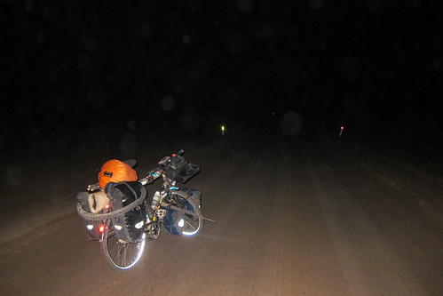 At night on the salt road