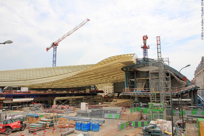 Réaménagement des Halles de Paris 14504515789_e079f4951e_o